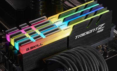 G.Skill Trident Z RGB DDR4 3200MHz 16GB (2x8GB) Kit AMD Edition