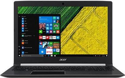 Acer Aspire 7 A715-72G-56ZT i5-8300H GTX1050 240DSSD черен лаптоп