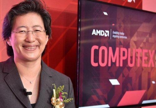 главният изпълнителен директор и президент на AMD Лиса Су Lisa Су