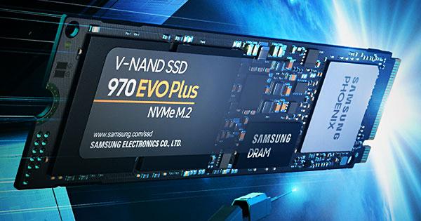 Samsung 970 EVO Plus M2 PCIe 250GB SSD диск