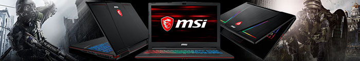 Лаптопи MSI за игри на ниски цени от Спийд Компютри