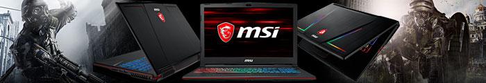 MSI Gaming Laptops Марка №1 по продажби на Геймърски лаптопи