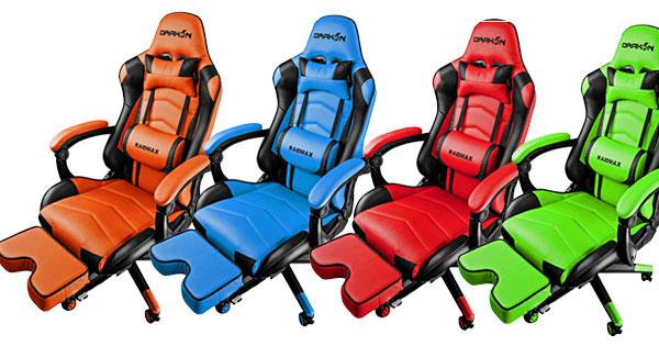 Геймърски стол Raidmax Drakon DK709OG Gaming Chair