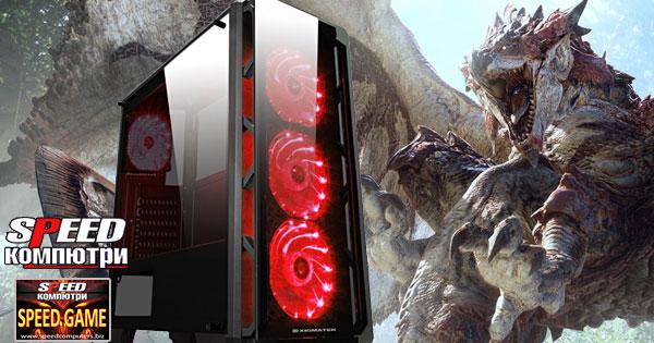 Геймърски компютър SPEED GAME AMD FX Extreme RTX