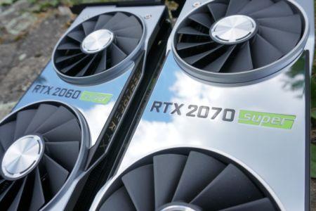 GeForce RTX 2060 Super, RTX 2070 Super и RTX 2080 Super